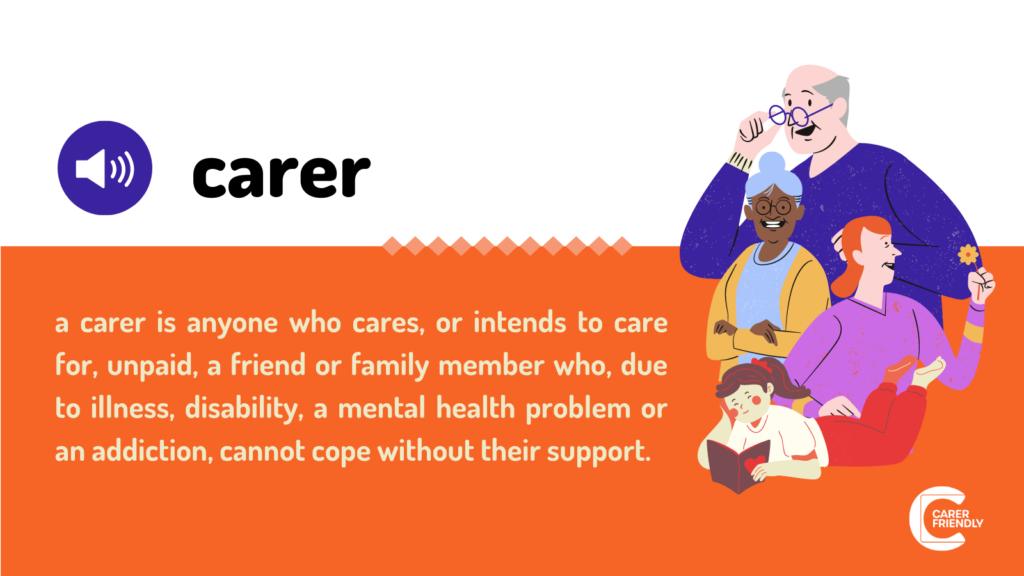 Definition of a carer