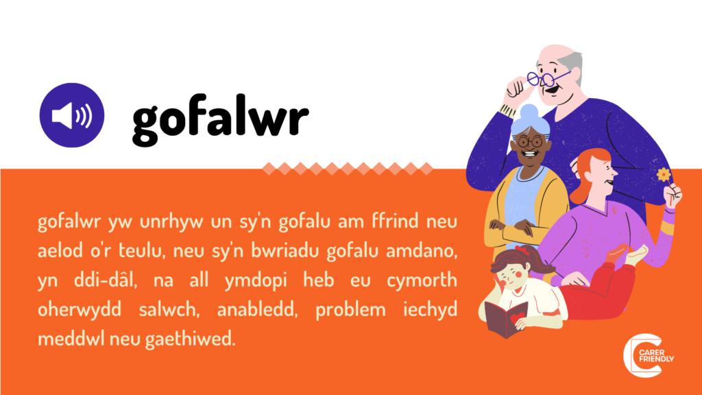 Carer Definition Gofalwr definition image