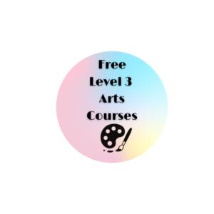 Free Level 3 Arts Courses